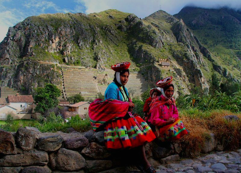 ollantaytambo lares valley people