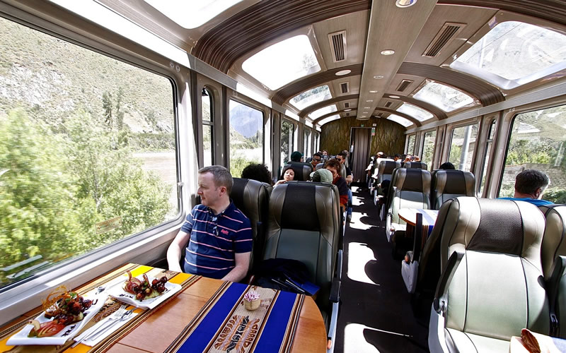 Machu Picchu Tour by Vistadome Train